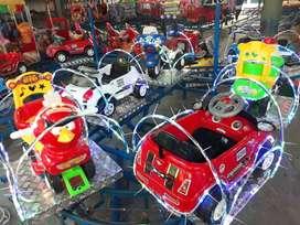 AGM peluang usaha mainan eskavator odong truck fiber kereta mini