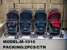 Strollers and prams available in different features and properties.