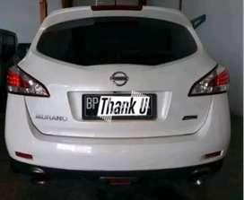 nissan Murano 2.5L auto kredit dan cash