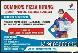 Domino's pizza delivery boys