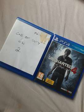 Ps4 games uncharted