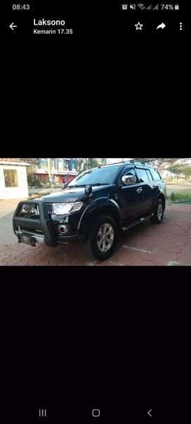 Pajero Sport Dakar 2012 Solid Black