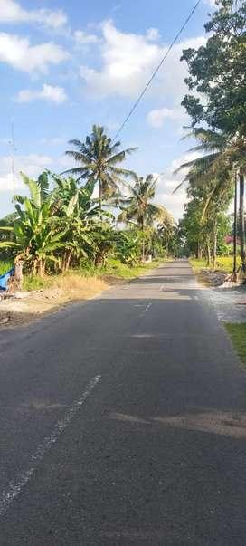 Tanah dijual murah di jalan Kaliurang km 14