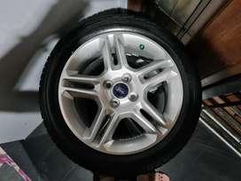 Velg Ori Lepasan Ford Fiesta R16 + Ban Achilles
