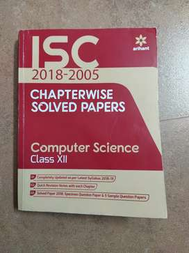 Arihant ISC chapterwise solved papers ( computer)