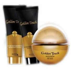Parfum Golden Touch Edt for Woman bonus Body Lotion
