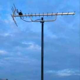 Jasa pasang antena tv digital bekasi utara