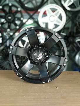 velg racing type Hiking R16x8 Hole 6/139.7 untuk Triton