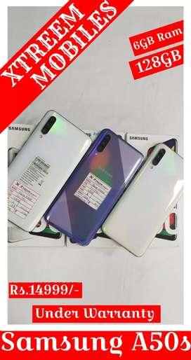 Samsung A50s.. Under Warranty..