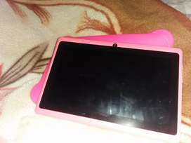 7 Inch he pink colour ka front back camera 2/8
