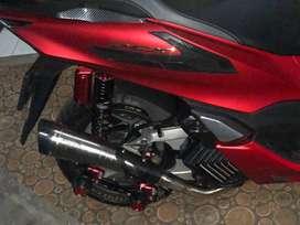 Knalpot R9 H2 Honda new pcx 160