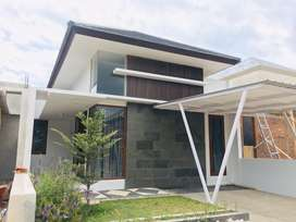 Rumah konsep villa