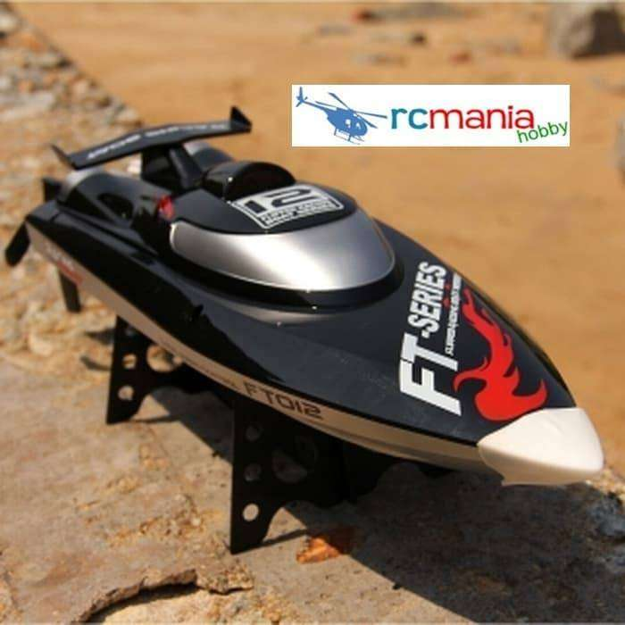 FT012 2.4G 4CH Brushless RC Racing Boat 0