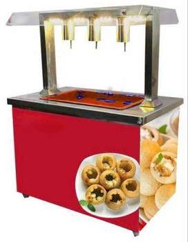 Sales person required to sell Pani puri