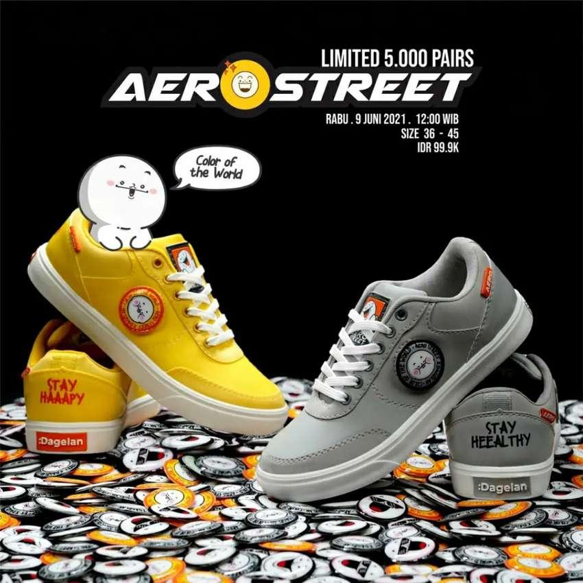 (BARU) Dijual Sepatu Kolaborasi Aerostreet x Dagelan