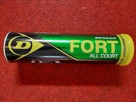 Grosir Bola Tennis / Bola Tenis Dunlop Fort Tabung Logam Isi 4