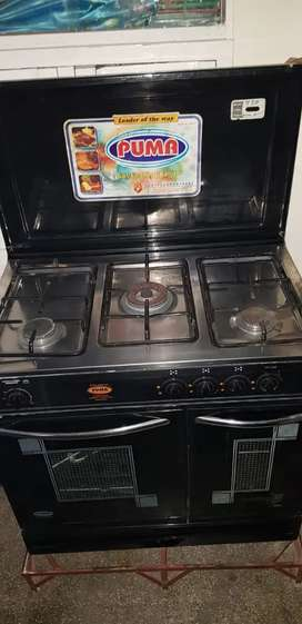 Puma. Cooking range.only one month used