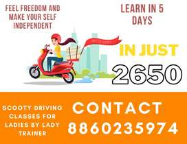 Scooty driving class for women
