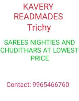 Sarees @Kauvery Readymades