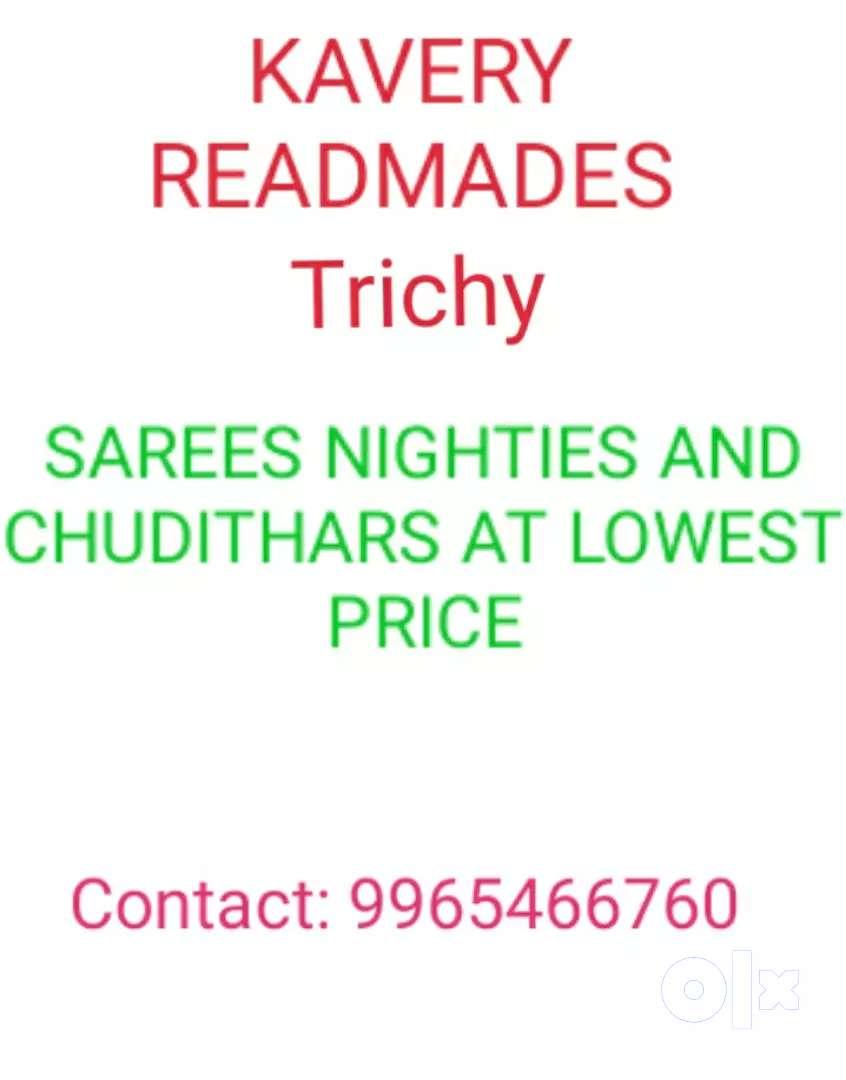 Sarees @Kauvery Readymades 0