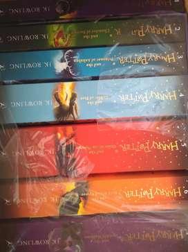 Harry Potter book Set + Cursed child parts l & ll