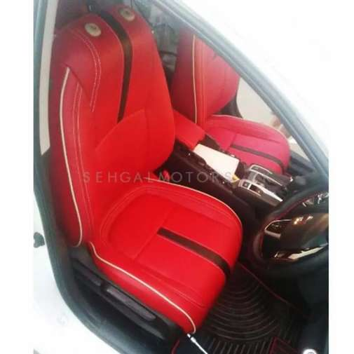 Car seat covers skin fitted with extra foaming