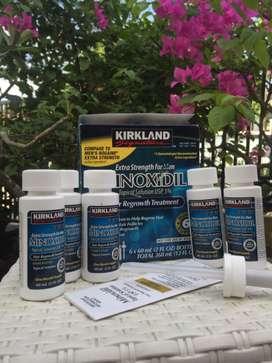 Minoxidil penumbuh rambut (2 bulan suplai + pipet original)