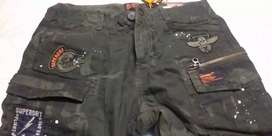 Superdry Olive Green Cargo Pant, Size 30