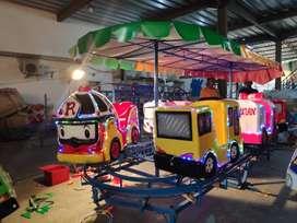 usaha media melukis gabus kereta mini panggung tayo robo PROMO 11
