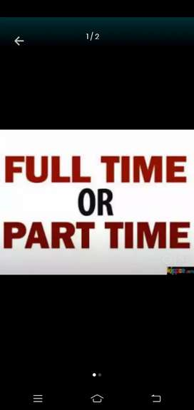 Work part time / full time for better income.