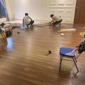 lantai vinyl stiker spc kayu karpet wallpaper keramik kitchen set