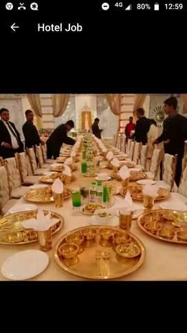 Waiter in vip parties and reception