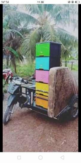 Jasa Angkutan Barang dengan motor Becak