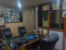 For rent coaching centre full furnished air condition classes RDC