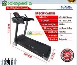 Treadmill Elektrik Besar Mewah Murah Bisa COD