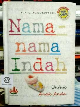 Nama nama indah untuk anak anda