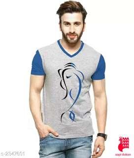 *Stylish Urbane Cotton Regular Fit Printed Men's T-Shirts Vol 1*