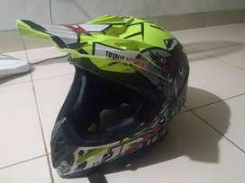 Helm motor Cross merk JPX