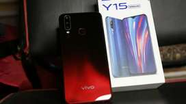 Vivo y15 red shaded with box