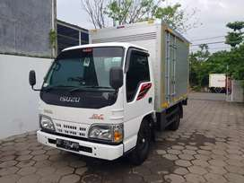 Isuzu Elf Full Box Aluminium NKR55 Tahun 2016 Turbo Max