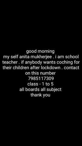 Tution teacher