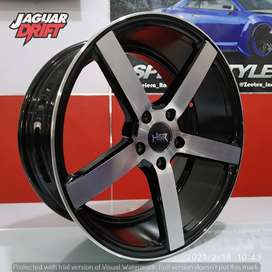 Velg Mobil HSR R18 NE3 Ring 18 Lebar 8/9 Baut 5 Xpander Hrv Crv Brv Dl