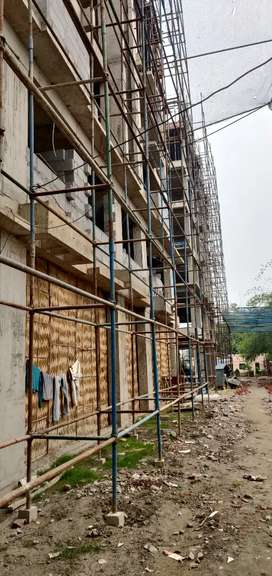 2bhk with car parking 46lacs (all included) modern Complex, Newtown
