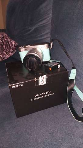 Fujifilm X-A10 xc16-50mm