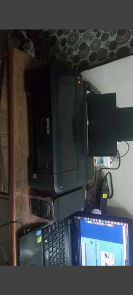 Sublimation machine with EPSON printer unused