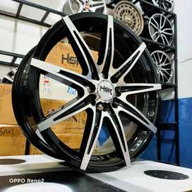 Velg HSR Mobil KIJANG LGX Ring 17 Lebar 7 Pcd 4x100-114,3 Pelek R17