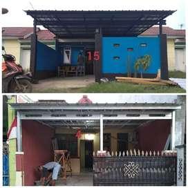 Kanopi minimalis, Kanopi baja ringan, wilayah Babakan Madang Bogor
