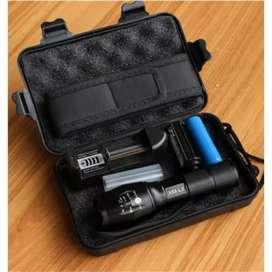 Senter LED E17 V2.0 Tactical CREE XM-L2 8000 Lumens