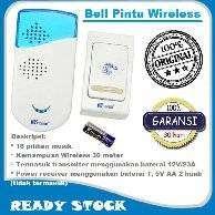 Bell rumah wireless yang memiliki Pilihan nada suara