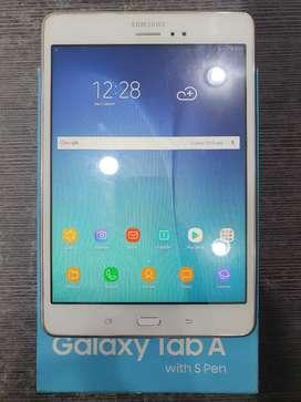 "Samsung Galaxy Tab A6 8"" S Pen 2/16Gb White Ex Garansi SEIN #MasterCom"